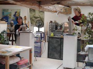 Stage modelage/sculpture Mai 2021 @ Atelier
